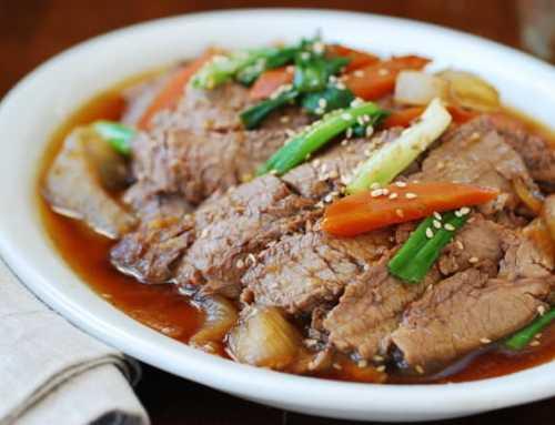 နူးအိနေတဲ့ အမဲသားဟင်းစပ်စပ်လေး