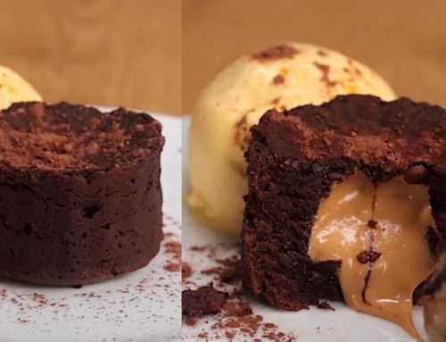 ချောကလက်ကြိုက်သူများအတွက် Peanut butter Mini Chocolate Cake ပြုလုပ်နည်း