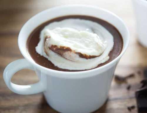 ချောကလက်ချစ်သူများအတွက် Hot Chocolate ဖျော်နည်း