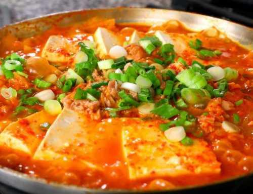 တူနာငါး ပဲပြား ကင်ချီဟင်းရည် စပ်စပ်လေး