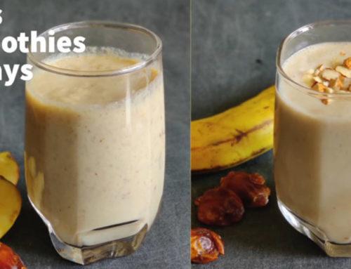 ဝိတ်ကျစေတဲ့မနက်စာ Oats Smoothie နှစ်မျိုး ပြုလုပ်နည်း