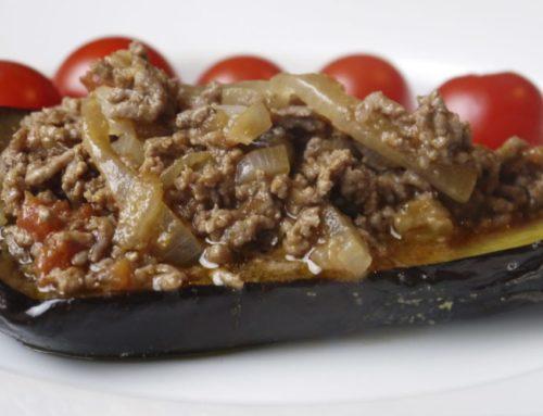 အမဲသားအစာသွပ် ခရမ်းသီးမီးဖုတ်