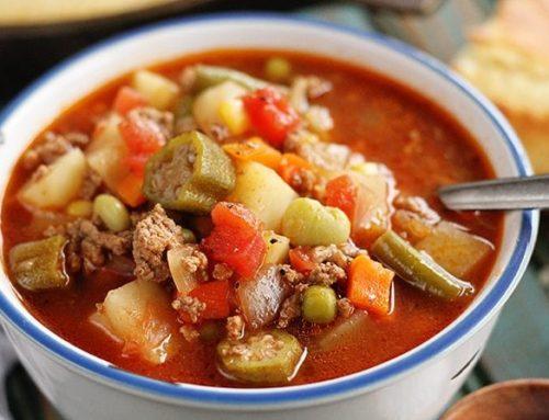 ဟင်းသီးဟင်းရွက်စုံ အမဲသားစွပ်ပြုတ်