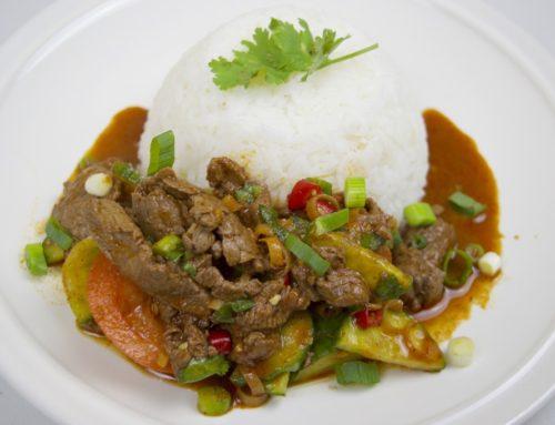 ထိုင်းစတိုင်လ် အမဲသားသုပ် စပ်စပ်လေး
