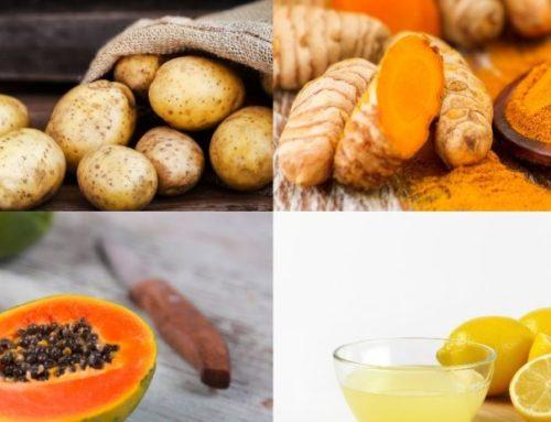 အမာရွတ်များကို ယူပစ်သလို ပျောက်ကင်းသွားစေမယ့် မီးဖိုချောင်ရှိအစားအစာများ
