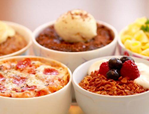 မတ်ခွက်တစ်လုံးဖြင့် အရသာရှိတဲ့ အစားအသောက်များ ဖန်တီးနိုင်မယ့် နည်းလမ်း (၃) မျိုး